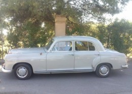 mercedes benz 220 s alquiler vehiculos escena coches rodajes sealand motion