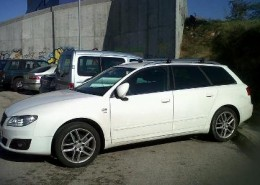 seat exeo alquiler vehiculos escena coches rodajes sealand motion